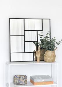 KAILA KAILA Spiegel Asymetric - Schwarz 70x70 cm