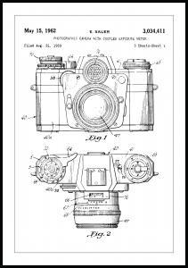 Lagervaror egen produktion Patentritning - Kamera I