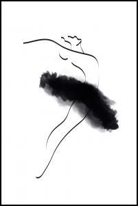 Bildverkstad Ballerina Thin Lines