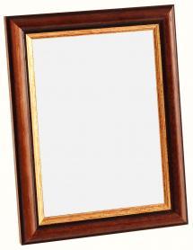 Spegelverkstad Spiegel Siljan Braun - Maßgefertigt