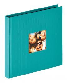 Walther Fun Album Grün - 18x18 cm (30 schwarze Seiten / 15 Blatt)