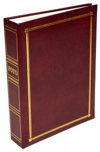Focus Classic Line Pocket Album Weinrot - 200 Bilder 10x15 cm