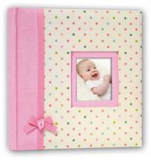 BGA Nordic Kara Babyalbum Rosa - 200 Bilder 11x15 cm