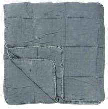 IB Laursen Bettüberwurf Vintage Doppelbett - Hellblau 240x240 cm