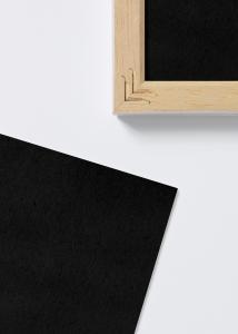Ramverkstad Säurefreies Einlageblatt Schwarz - 60x80 cm
