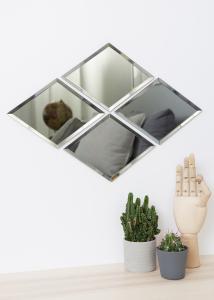 House Doctor Spiegel House Doctor Diamond Grau 16x22 cm