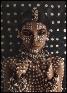Bildverkstad Aboriginal body art I