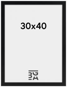 Artlink Amanda Box Svart 30x40 cm