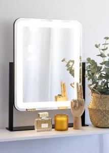 KAILA KAILA Kosmetikspiegel III Schwarz - 45x60 cm