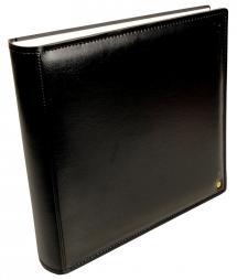 Henzo Henzo Gran Cara Premium Fotoalbum - Schwarz - 31x33 cm (100 weiße Seiten)