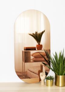 KAILA KAILA Spiegel Oval Rose Gold 50x100 cm