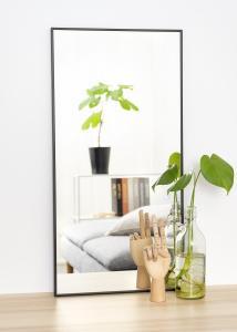 Estancia Spiegel Narrow Schwarz 40x80 cm