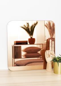 KAILA KAILA Spiegel Square Rose Gold 40x40 cm