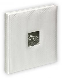 Walther Glamour Album - 34x33 cm (60 weiße Seiten / 30 Blatt)
