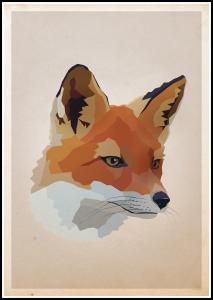 Bildverkstad Fox Poster