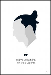 Tim Hansson Zlatan the legend