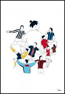 Bildverkstad History Of Zlatan Colours