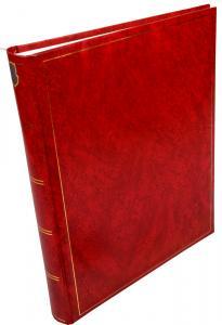 Henzo Henzo Basic Line Fotoalbum Rot - 30x36 cm (80 weiße Seiten / 40 Blatt)