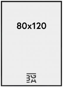 Artlink Rahmen Amanda Box Acrylglas Schwarz 80x120 cm