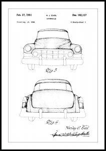 Bildverkstad Patentritning - Cadillac II
