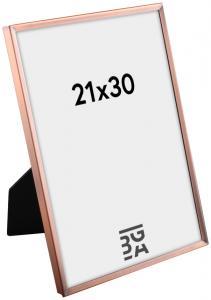 Estancia Slät Metall Kupfer 21x30 cm