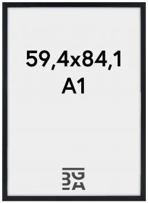Estancia Rahmen Stilren Acrylglas Schwarz 59,4x84,1 cm (A1)