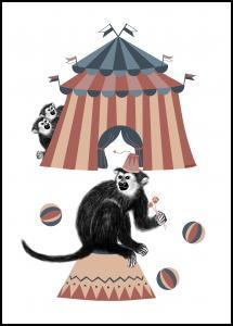 Bildverkstad Circus Poster