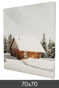Egen tillverkning - Kundbild Leinwandbild 70x70 cm - 18 mm