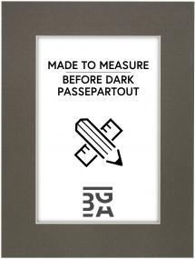 Egen tillverkning - Passepartouter Passepartout Before Dark - Maßanfertigung (Weißer Kern)
