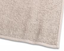 Borganäs of Sweden Gästehandtuch Stripe Frottee - Sand 30x50 cm