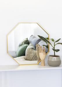 KAILA KAILA Spiegel Octagon Gold 50 cm Ø