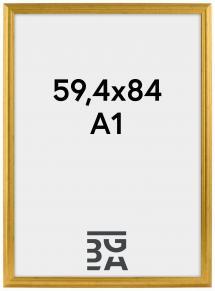 Galleri 1 Västkusten Guld 59,4x84 cm (A1)