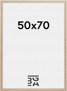 Estancia Rahmen Stilren Acrylglas Eiche 50x70 cm