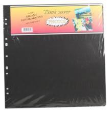 Focus Albumblätter Timesaver Gigant - 10 schwarze Bögen