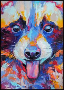 Bildverkstad Raccoon Painting II