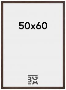 Estancia Rahmen Stilren Acrylglas Walnuss 50x60 cm