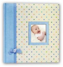 BGA Nordic Kara Babyalbum Blau - 200 Bilder 11x15 cm