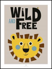 Bildverkstad Wild and Free - Beige