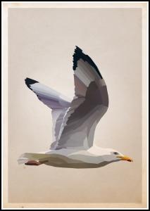 Lagervaror egen produktion Gull Poster