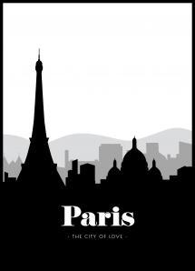 Bildverkstad Paris Skyline