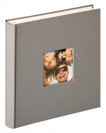 Walther Fun Design Grau - 30x30 cm (100 weiße Seiten / 50 Blatt)