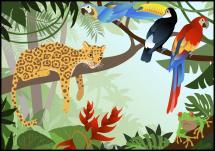 Bildverkstad Jungle Animals