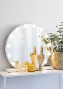 KAILA KAILA Kosmetikspiegel V Weiß - 61x48 cm