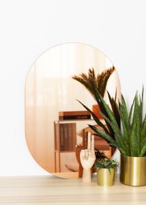 KAILA KAILA Spiegel Oval Rose Gold 50x70 cm