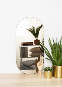 KAILA KAILA Spiegel Oval Dark Bronze 35x70 cm
