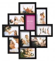 Walther Timeless Collage-Rahmen Schwarz - 10 Bilder