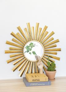 Artlink Spiegel Selin Gold 81 cm Ø
