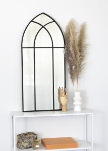 KAILA KAILA Spiegel Window - Schwarz 45x100 cm