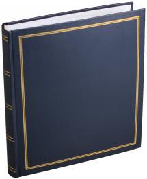 Estancia Diamant Fotoalbum Blau 27,5x32 cm (100 weiße Seiten / 50 Blatt)