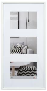 Walther Galeria Collage-Rahmen Weiß - 3 Bilder (13x18 cm)
